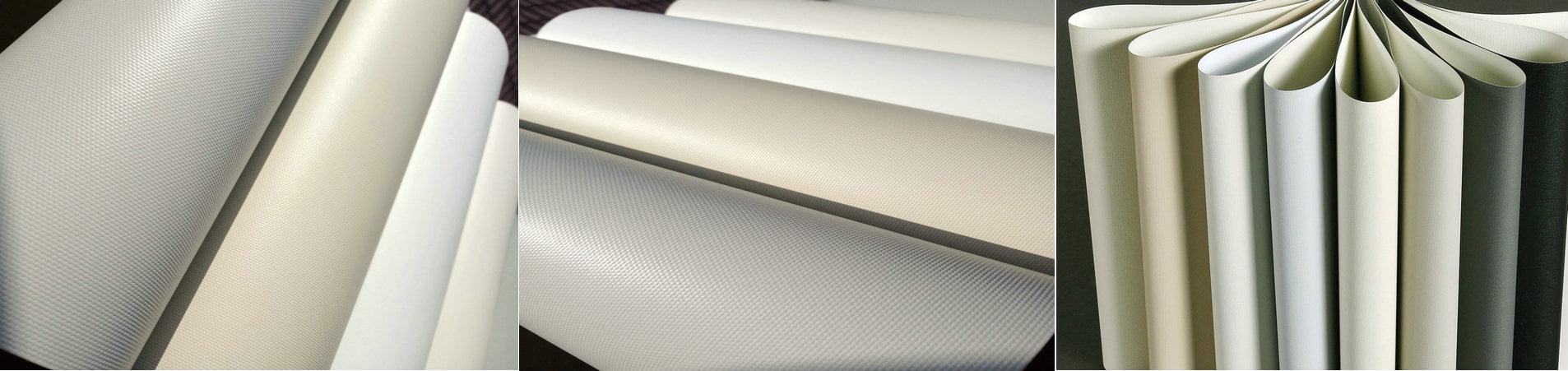 Fiberglass PVC Vinyl Blackout Blinds Fabric, Fiberglass PVC roller