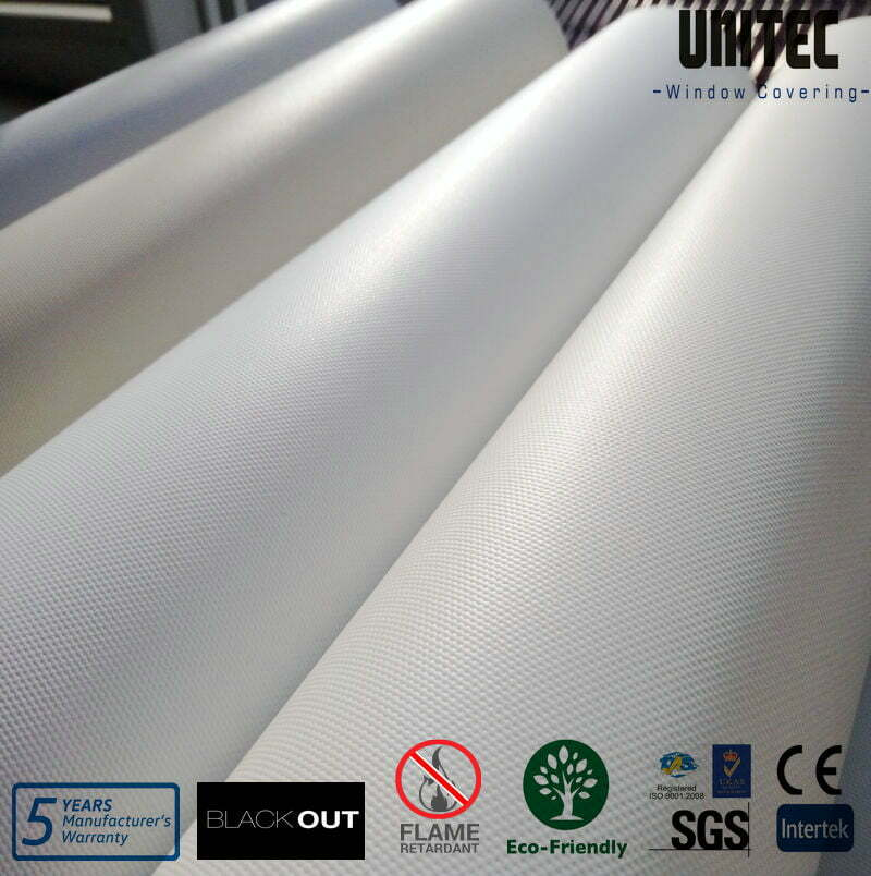 Fiberglass PVC Vinyl Blackout Blinds Fabric, Fiberglass PVC
