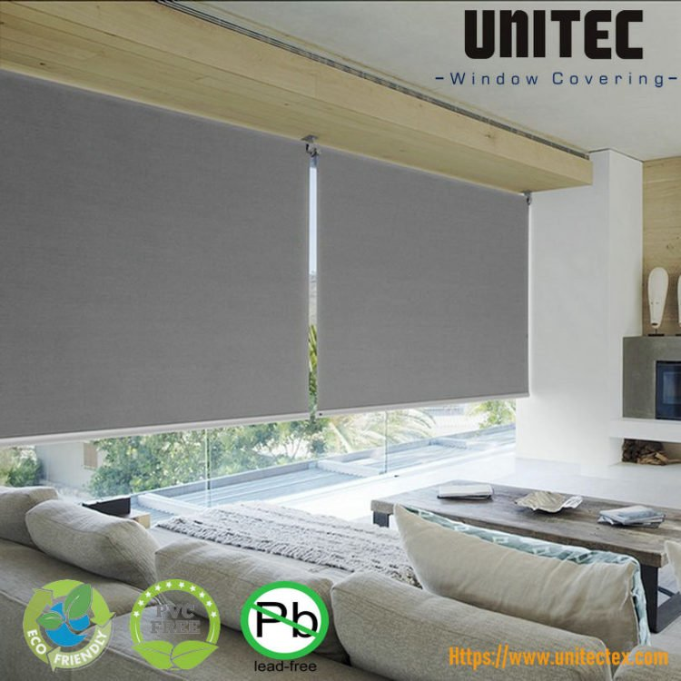 Roller Shade Blinds The Most Versatile Way To Dress The Windows Screen Fabric Roller Blinds